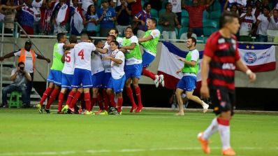 Bahia vence Vitória por 2 a 0 e leva vantagem para partida final