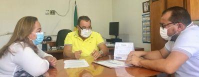 Na Codevasf, Cafu Barreto trata de assuntos das regiões de Irecê e do São Francisco