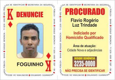 """Polícia divulga três novas cartas no """"Baralho do Crime"""""""