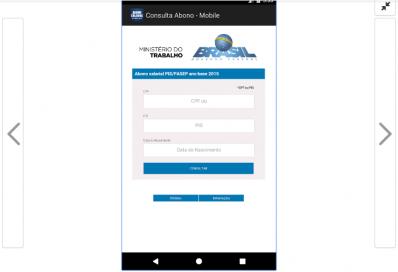 Consulta do Abono Salarial do PIS/Pasep pode ser feita por aplicativo