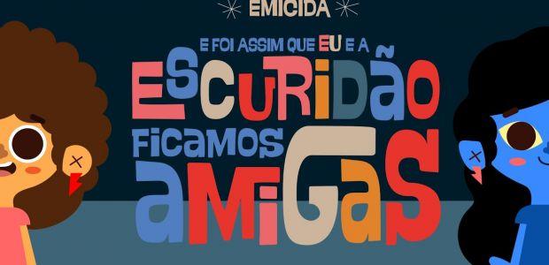 Emicida lança seu segundo livro infantil