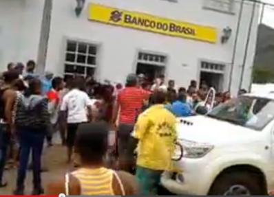 Mucugê vive cenas de terror em mais um assalto ao Banco do Brasil