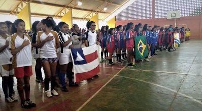 São Gabriel: descontração, lazer e integração marcaram abertura das Olimpíadas Estudantis
