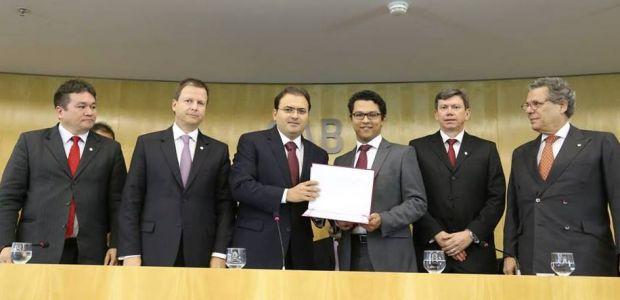 Ibititaense ganha prêmio do Conselho Federal da OAB