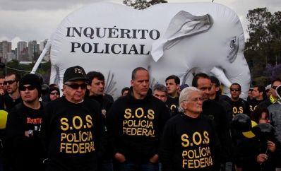 Faltando 60 dias para Copa, policiais federais prometem parar durante evento
