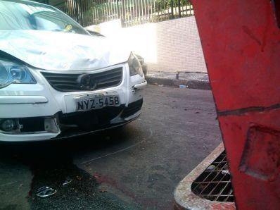 Carro com placa de Irecê envolvido em acidente trágico na capital