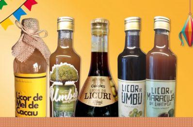 Licores trazem sabor da agricultura familiar às festas juninas