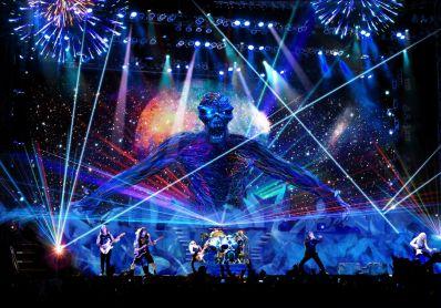 Iron Maiden pode tocar na Fonte Nova em 2019