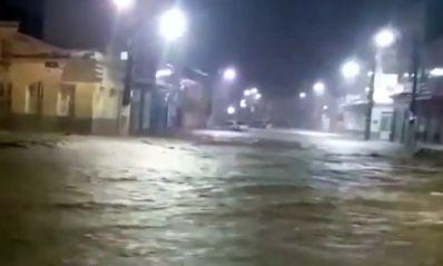 Jacobina e Lençóis sofrem por causa da chuva