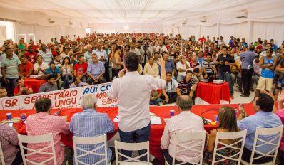 Em ato político, Rui Costa mobiliza mais de três mil pessoas em Irecê