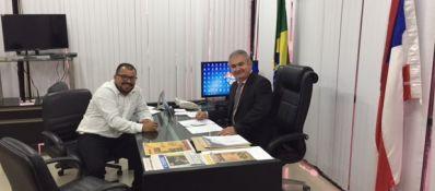 Cafu parabeniza novo presidente da Assembleia Legislativa da Bahia