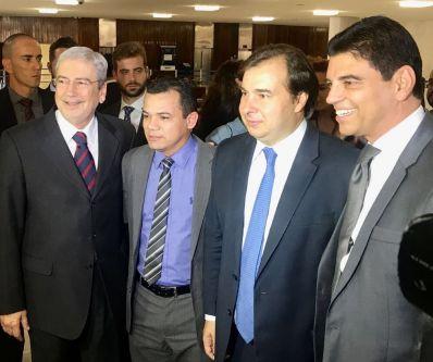 Em Brasília, Léo da Unibel discute futuro de Irecê com ministro e presidente em exercício