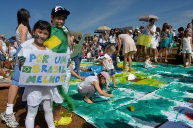 Educadores do Semiárido Baiano fazem ato em Brasília