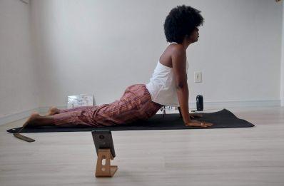 Yoga Online: instrutora dá aulas ao vivo pelo instagram*