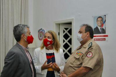 Em reunião na capital, prefeito discute detalhes técnicos para implantação do Corpo de Bombeiros em Irecê