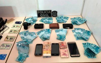 Cinco são presos com cerca de R$ 10 mil em notas falsas na BA