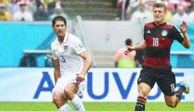 Müller marca, Alemanha vence EUA e passa em primeiro no grupo G
