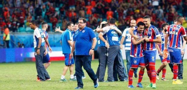 Guto Ferreira celebra título do Bahia na Copa Nordeste: 'Indescritível'
