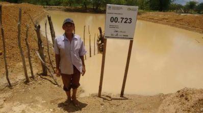Mais de 50 barreiros foram entregues a famílias em Sento Sé