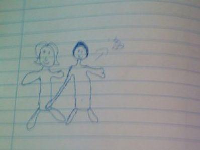 Menina faz desenho para denunciar suposto abuso sexual do pai