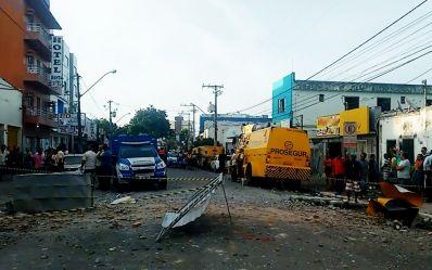 Criminosos explodem empresa de valores e matam vigilante no interior da Bahia