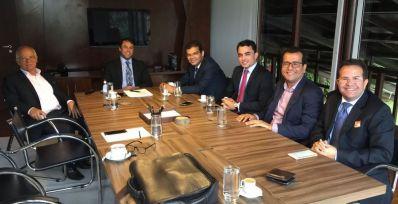 Hipólito Rodrigues cumpre agenda institucional em Brasília