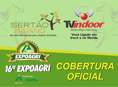 Sertão Baiano e Artmídia na cobertura oficial da 16ª EXPOAGRI
