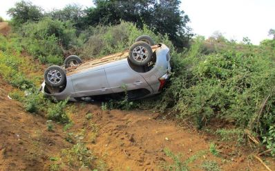 Vereador de João Dourado sofre acidente de carro