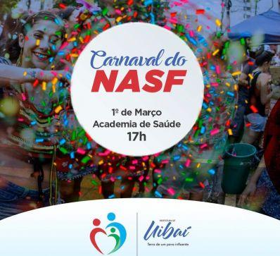 Venha curtir o Carnaval do NASF em Uibaí