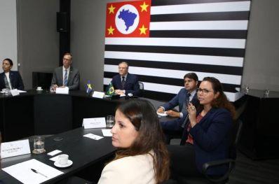 Paulo Câmara participa de agenda com a Câmara de Comércio Sueco-Brasileira