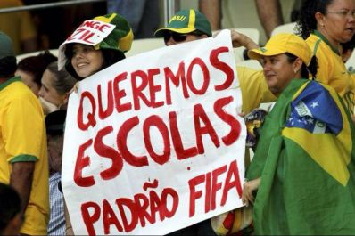 Antropólogo acredita que manifestações durante a Copa não terão mesma força