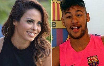 Neymar e Alinne Rosa vivem affair
