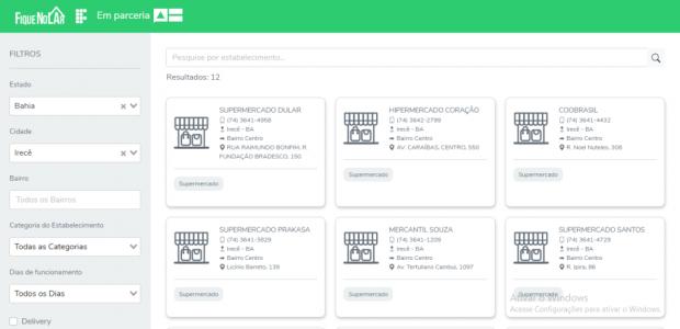 #FiqueNoLar Conheça municípios baianos cadastrados na plataforma