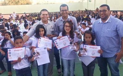 Em parceria com a PM, São Gabriel forma 159 alunos em curso de prevenção às drogas