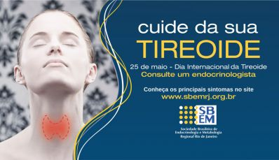 Dia Internacional da Tireoide alerta sobre importância de diagnóstico precoce