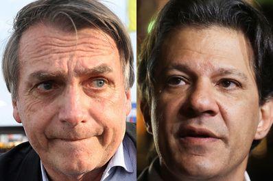 Na Bahia, Haddad vence em 411 cidades; Bolsonaro em seis