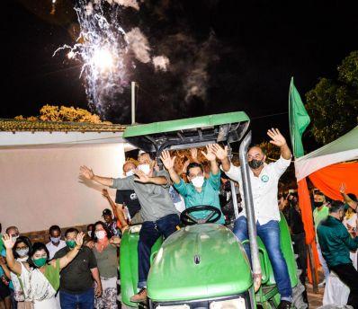 Thiago de Maristela promete honrar a confiança do povo de Jussara