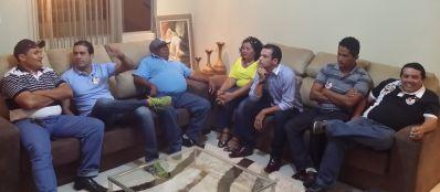 Bruno Reis se encontra com lideranças políticas em Irecê