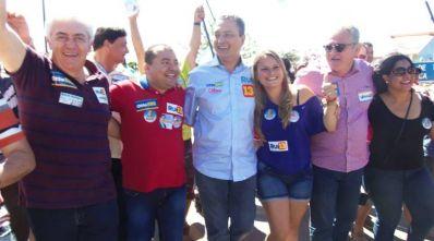 Rui Costa mostra força em Ibititá