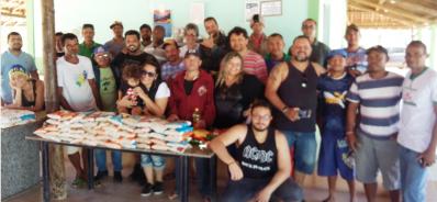 Comunidade Rock de Irecê faz entrega de alimentos à instituição beneficente