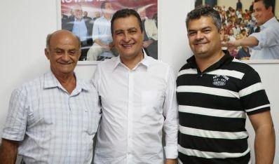 Dom Basílio: Prefeito anuncia apoio a Rui Costa