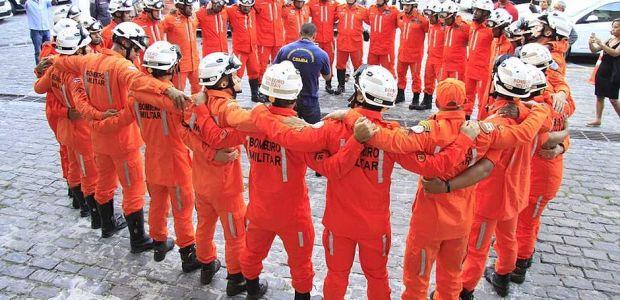 Bombeiros baianos trabalhavam por até 16 horas em Brumadinho