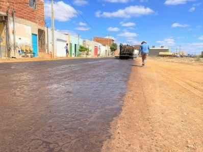 Prefeitura inicia novo pacote de obras de pavimentação na cidade