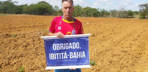 Agricultor de Ibititá vai disputar São Silvestre